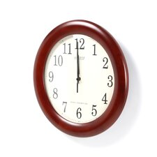 "Analog Bold Atomic 12.5"" Wall Clock"