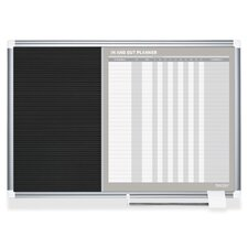 In/Out Planner 2' x 3' Whiteboard