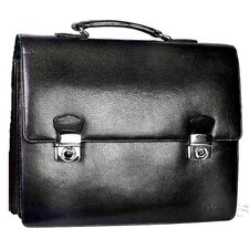 Corporate Leather Laptop Briefcase