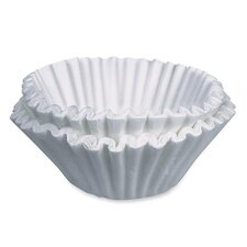 Commercial Size Coffee Filters, Commercial Size, 250/PK, White