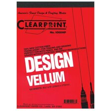 1000H Series Unprinted Vellum Sheet (Set of 100)
