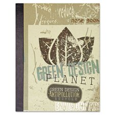 Eco-Green Design Planet Notebook