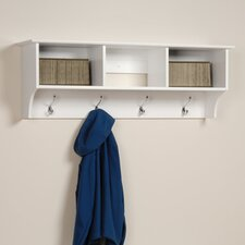 <strong>Prepac</strong> White Monterey Entryway Shelf