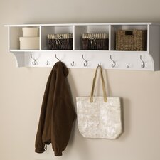 "60"" Hanging Entryway Shelf"