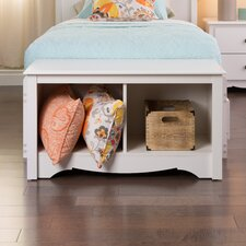 Monterey Bedroom Cubbie Storage Bench