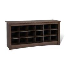Sonoma Cubbie Storage Bedroom Bench