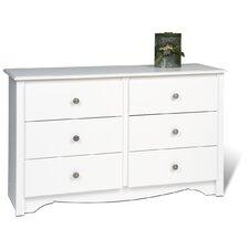 Monterey Condo 6 Drawer Dresser