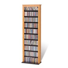 Slim Barrister Multimedia Storage Rack