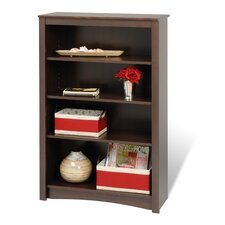 Bookcase with Four Shelves in Espresso