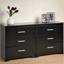 <strong>Prepac</strong> Coal Harbor 6 Drawer Dresser