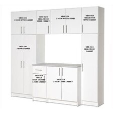Elite Garage/Laundry Room Storage Cabinet - 8-foot Wide