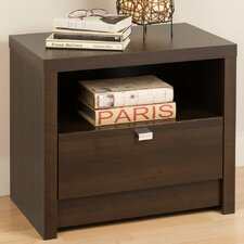 <strong>Prepac</strong> Designer Series 9 1 Drawer Nightstand