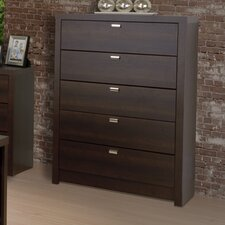 <strong>Prepac</strong> Designer Series 9 5 Drawer Chest
