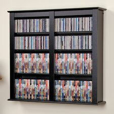 Floating Wall Mounted Multimedia Storage Rack