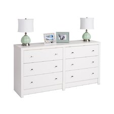 Calla 6 Drawer Dresser