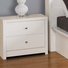 <strong>Prepac</strong> Calla 2 Drawer Nightstand