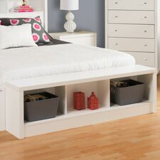Calla Wood Storage Bedroom Bench