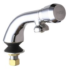 <strong>Chicago Faucets</strong> One Handle Single Hole Bathroom Faucet