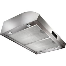 "Evolution 3 36"" 100-450 CFM 4-Way Convertible Under Cabinet Range Hood"