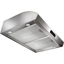"Evolution 4 30"" 150-630 CFM 4-Way Convertible Under Cabinet Range Hood"