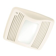 <strong>Broan Nutone</strong> Ultra Silent 110 CFM Humidity Sensing  Exhaust Bathroom Fan with Light