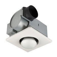 70 CFM Bathroom Fan with One Bulb Heater