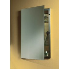 Specialty Single Recessed Cabinet with Beveled Edge Mirror