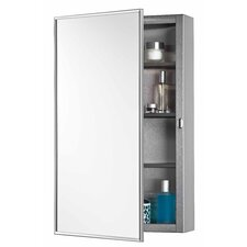 "16"" x 26"" Surface Mount Medicine Cabinet"