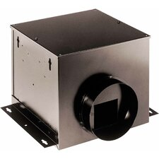 140 CFM Single-Port Remote In-Line Ventilator Fan
