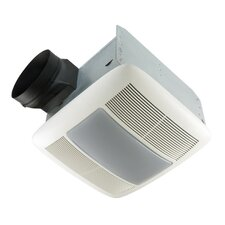 Ultra Silent 110 CFM Energy Star Quietest Bathroom Fan with Fluorescent Light