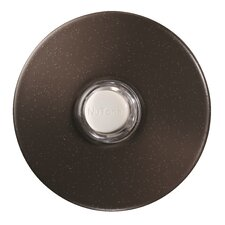 <strong>Broan Nutone</strong> Lighted Round Stucco Pushbutton