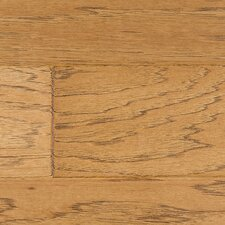 "Glueless Click 4-3/4"" Engineered Hickory in Molasses"