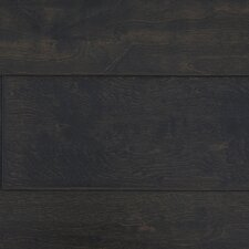 "Distressed Handscraped 6"" Engineered Maple in Dark Chocolate"