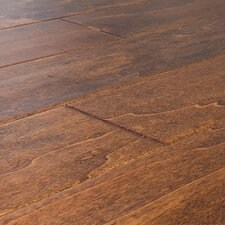 SAMPLE - Handscraped Engineered Birch in Havana Sunrise