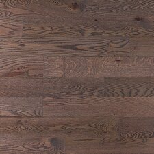 SAMPLE - Stained Semi-Gloss Solid Red Oak in Charcoal Light / Folk