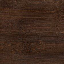 "Handscraped 6"" Solid Bamboo Flooring in Espresso"