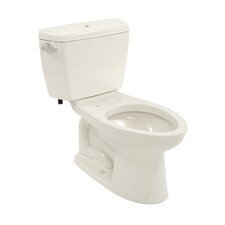 Drake 1.6 GPF Elongated 2 Piece Toilet with Bolt Down Lid with E-Max Flush