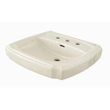"Guinevere 24.375"" Pedestal Bathroom Sink"