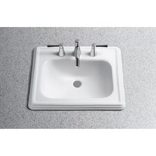 Promenade ADA Compliant Self Rimming Bathroom Sink