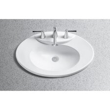 Pacifica ADA Compliant Self Rimming Bathroom Sink