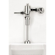 High Efficiency Manual Urinal Flushometer Valve with Accessory Kit in Polished Chrome