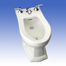 "Clayton 15"" Floor Mount Bidet"