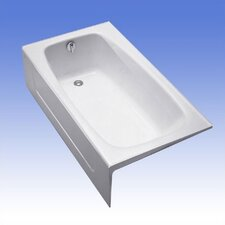 "<strong>Toto</strong> Enameled Cast Iron 60"" x 32"" Bathtub"