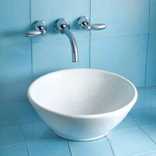 <strong>Toto</strong> Larissa Vessel Bathroom Sink with SanaGloss Glazing