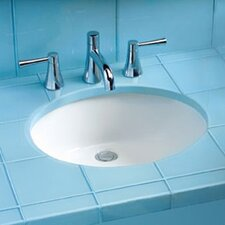 ADA Compliant Undermount Bathroom Sink with SanaGloss Glazing