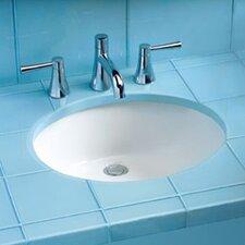 ADA Compliant Undermount Bathroom Sink with SanaGloss Glazing