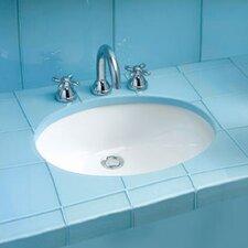 Dantesca ADA Compliant Undermount Bathroom Sink with SanaGloss Glazing