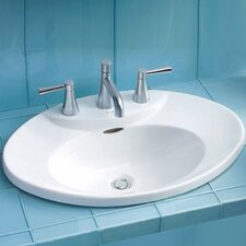 <strong>Toto</strong> Pacifica ADA Compliant Self Rimming Bathroom Sink