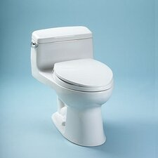 Supreme Power Gravity Low Consumption 1.6 GPF Elongated 1 Piece Toilet