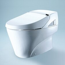 <strong>Toto</strong> Neorest Elongated 1 Piece Toilet and Washlet Unit with SanaGloss
